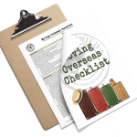 Moving overseas checklist to download