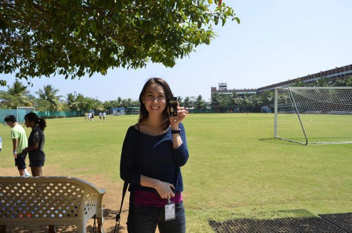 Cecilia in Chennai