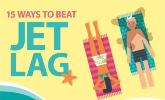 15 ways to beat jet lag