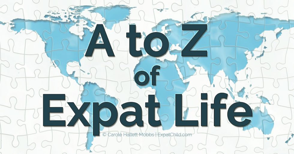 A-Z of expat life